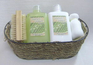 Beauty Gift Set (4PCS with beautiful basket)