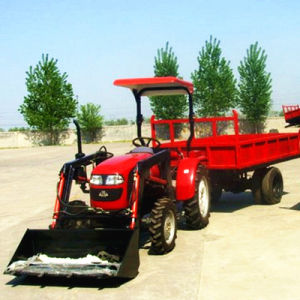 25HP 4WD Agricultural Tractor with Agricultural Equipment
