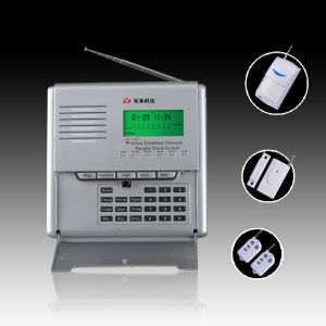 GSM/Pstn Dual Network Burglar Alarm System With LCD Display and SMS Notification When Alarming (HT-110B-1 (D) GSM)
