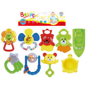 Plastic Kids Toy Set Baby Rattle (H5749206) pictures & photos