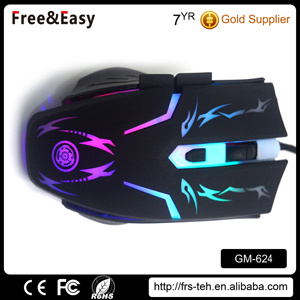 Cheaper Factory Price 6D Blacklit Gaming Mouse pictures & photos