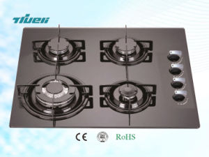 Tempered Glass Auto Ignition Gas Hob/Trg4-604