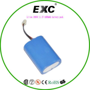 Ce FCC RoHS 14.8V Li Ion Battery Pack Long Cycle Life Rechargeable 18650 Battery Pack pictures & photos
