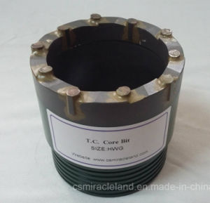 Hwg T. C. (Tungsten Carbide) Core Drill Bit pictures & photos