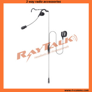 Behind The Head Headset with Inline Ptt & Remote Finger Ptt, Quick Disconnect Microphone (RHS-0636) pictures & photos