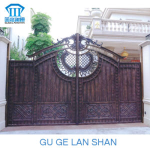 High Quality Crafted Wrought Iron Gate/Door 014 pictures & photos