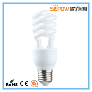 9W 11W Half Spiral Energy Saving Lamp T3 Light pictures & photos