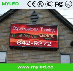 2015 HD Competitive Price Outdoor P16 Advertising LED Billboard/Large LED Sign/Outdoor Double Side Electronic LED Sign