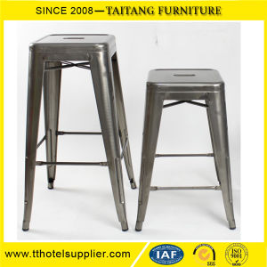 Amazing Color Iron Bar Stool Bar Furniture Metal Chair China Supplier With Foot Rest Inzonedesignstudio Interior Chair Design Inzonedesignstudiocom