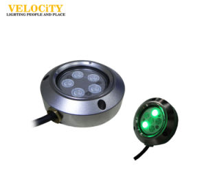 5W/6W IP68 RGB Waterproof Marine Underwater Boat Light