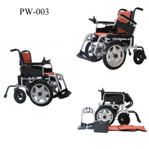 Electromagnetic Brake Power Wheelchair for Disabled (PW-003) pictures & photos
