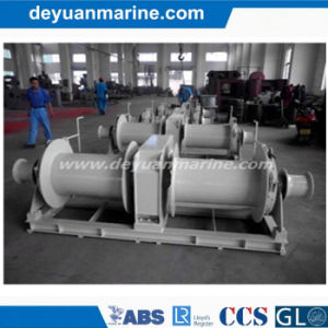 Electric Double Gyspy Mooring Winch pictures & photos