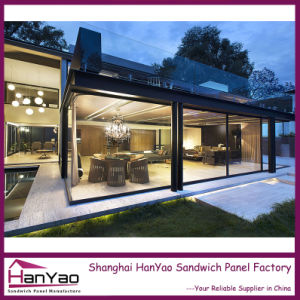 High Quality Luxury Customized Steel Structure Prefabricated House pictures & photos