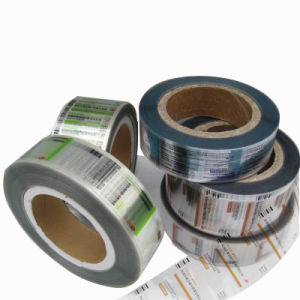 Metallized Silver Polyester Self- Adhesive Label Sticker