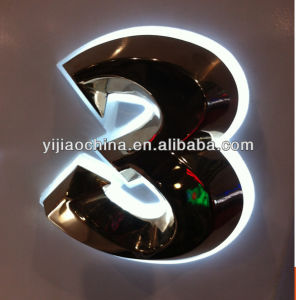Made in China Customized Stainless Steel Backlit Signage pictures & photos