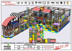 Kaiqi Pirate Style Indoor Soft Play Playground Equipment for Children′s (KQ20130507-TQBX62C) pictures & photos