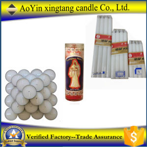 14G 20g 28g 35g 55g White Candle Home Candle Africa Candle to Chad pictures & photos