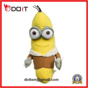 Banana Plush Pet Squeaky Bite Chew Dog Toy