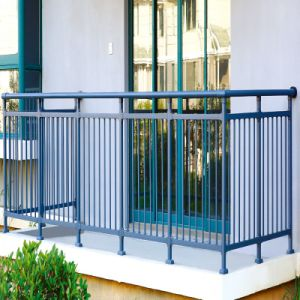 Gray Economical Steel Balustrade for Project