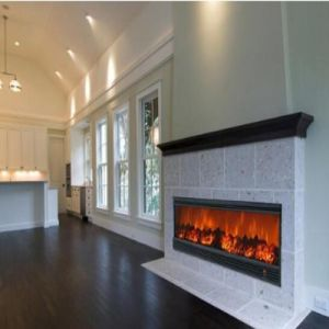 China 52 Modern Electric Fireplace Design With Wood Frame Or