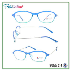 Light PC Reading Glasses with Slim Metal Temple (RP474056) pictures & photos