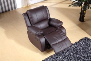 Cool Pu Leather Recliner Chair Lazy Boy Chair Armchair Single Seat In Brown Color Sf3706 B Ncnpc Chair Design For Home Ncnpcorg