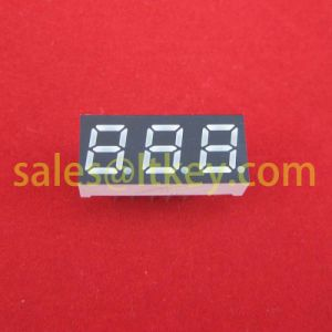 0.25 Inch 3 Digits 7 Segment LED Display pictures & photos