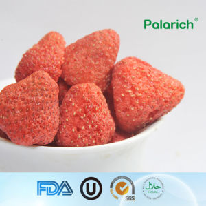 Dried Strawberry Chips/Dehydrated Fruits Snacks/No Preservation