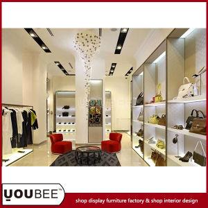China Modern Briefcase And Handbag Display Showcases For Shop
