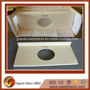 Beige Granite Vanity Tops for Kitchen