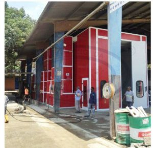 15m High Quality Spray Paint Booth with CE Approved pictures & photos