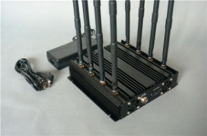 Phs Dcs GSM 2g 3G 4G WiFi Cell Phone Signal Jammer pictures & photos