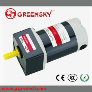 40W 12V DC Brushed Gear Motor with CE pictures & photos