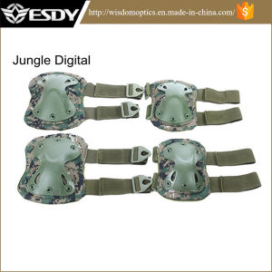 Tan Color Outdoor Tactical Military Outdoor Sport Knee & Elbow Pads pictures & photos