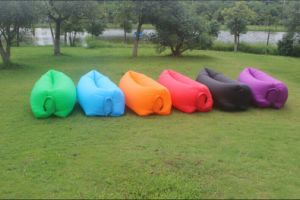 Best Material Single Deck Inflatable Layu2032s Bag Inflatable Hammock Inflatable  Sofa
