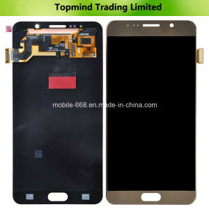 Gold Color LCD Display with Digitizer Touch Screen for Samsung Galaxy Note 5 N920V