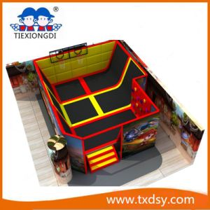 Factory Trampoline Park Indoor Commercial Cheap Trampoline for Sale pictures & photos