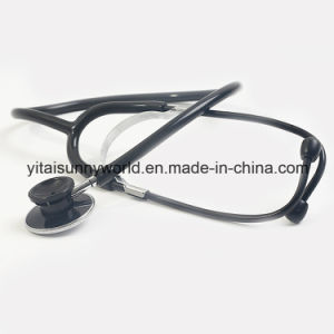 Colored Dual Head Stethoscope with Attractive Colored Head for Adult pictures & photos