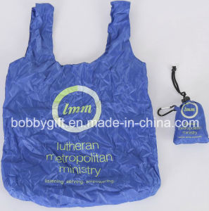 High Quality Polyester Foldable Shopping Bag pictures & photos