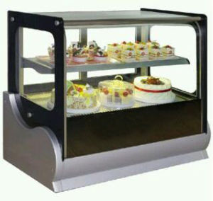 Stainless Steel Desktop Cake Showcase (cold) pictures & photos