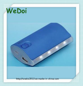 4000mAh Portable Cellphone Charger with LED Light (WY-PB14) pictures & photos