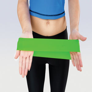 Exercise Loop Bands: Extra Wide Extra Long - Best Resistance Bands for Legs - Set of 4