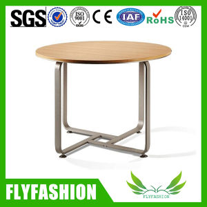 Wooden Round Dining Table for Sale Dt-33 pictures & photos