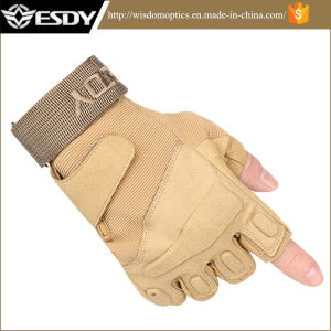 Esdy Tactical Half-Finger Outdoor Sports Motorcycle Safety Gloves pictures & photos