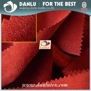 100%Polyestery Peach Fabric /Uphostery Fabric pictures & photos