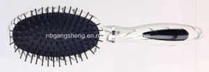Oval Cushion Brush Wooden Color Hair Brush pictures & photos