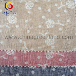 100%Cotton Jacquard Yarn Dyed Fabric for Garment Textile (GLLML080) pictures & photos
