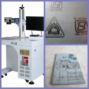 Max/Ipg 20W Fiber Metal Laser Marking Machine pictures & photos