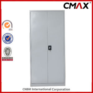 Metal Cupboard with Mirror and Inside Safe Box Steel 2-Doors Filing Cabinet Cmax-FC02-009 pictures & photos