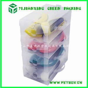 Plastic Clear Packaging Box for Baby Shoes